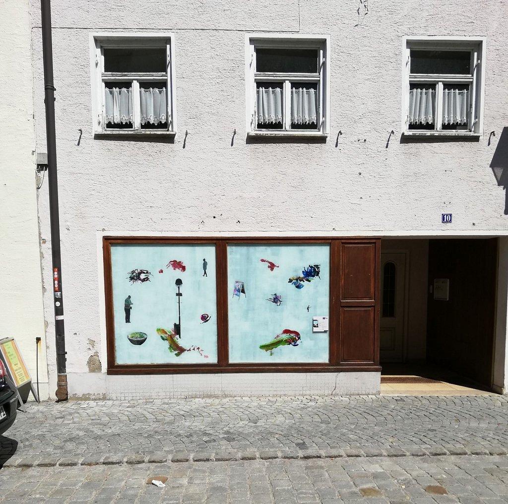 Stadtprojekt Zwischen_Raum Kaufbeuren 2019 Zwischenergebnis